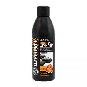 šungitový šampon s keratinem